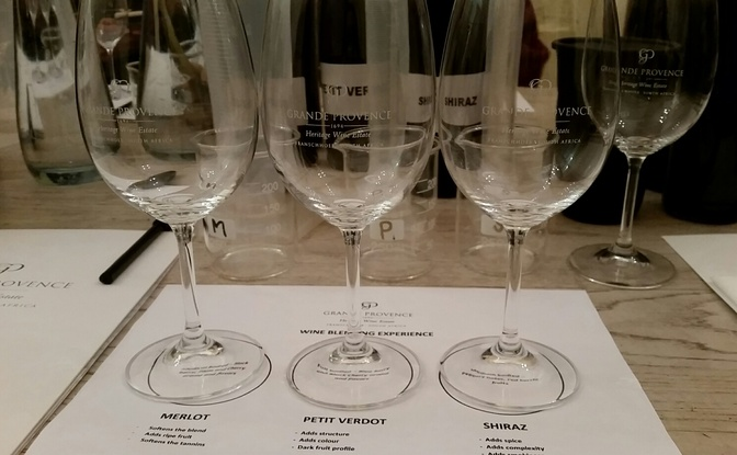 Tasting Tours and Wine Blending